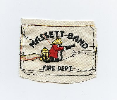 Massett Band Native Fire Department, BC, Canada HTF Vintage Shoulder Patch Proof
