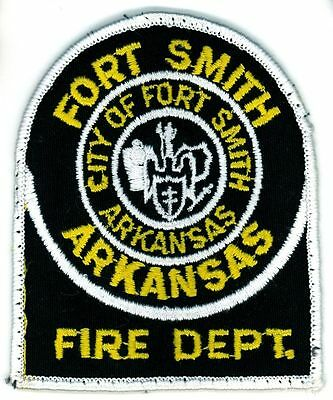 Vintage FSFD City of Fort Smith Fire Department Uniform Patch Arkansas AR
