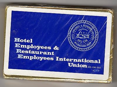 HERE: Hotel Employees & Restaurant Employees Intl Union: Playing cards