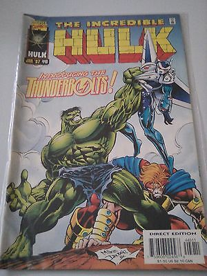 The Incredible Hulk Issue 449 1st Thunderbolts