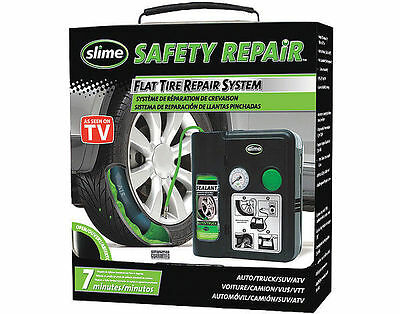 Flat tire safety repair system slime - 50048