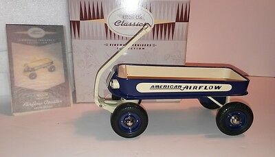 Kiddie Car Classic AMERICAN AIRFLOW COASTER WAGON  Limited Ed 1400 / 29,500