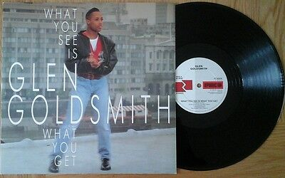 """Glen Goldsmith - What You See Is What You Get 12"""" 45Rpm Vinyl Single"""