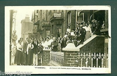 """MARGATE,""""STANMORE"""" ATHELSTAN ROAD,CLIFTONVILLE, vintage postcard"""