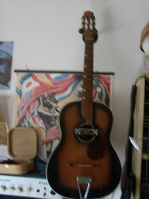 Chtarra Vintage MEAZZI Star -made in Italy 1950/60
