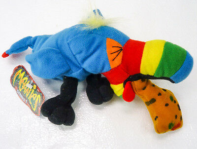 Hurley Toucan Bird MEANIES Bean Bag Plush Spoof Toy 1997 Series 1 NEW NWT Beanie