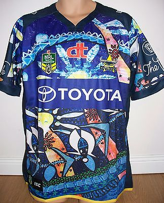 "Cowboys - North Queensland - Rugby League- Nrl Australia - Xl  48"" Chest - New"