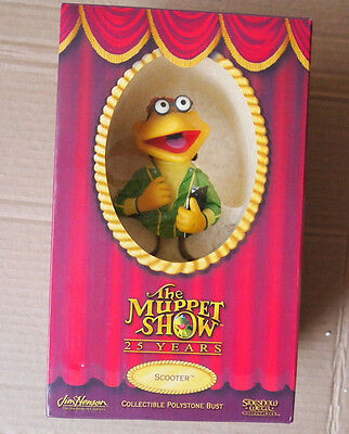 The Muppets Show Sideshow Weta Series 3 Scooter LE Bust 0382/5,000 Warren Mahy