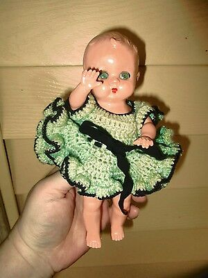 """""""Best"""" 8""""  baby hard plastic  doll  from the 50's"""
