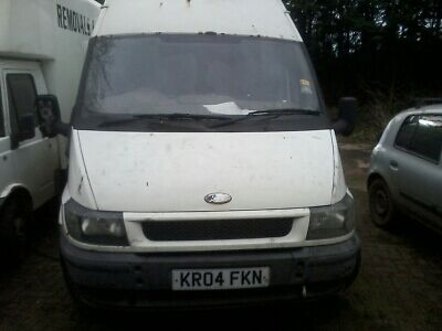 2004 Ford Transit T350 LWB High Roof 2.4TDDI NEEDS FIXING SPARES OR REPAIR