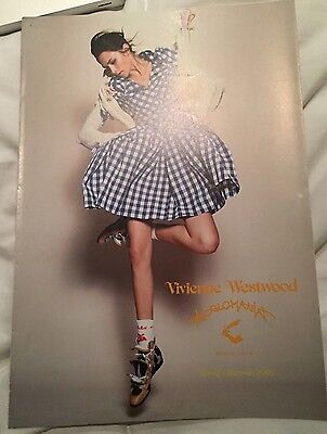 Vivienne Westwood ANGLOMANIA Brochure Look Book Spring Summer 2005 Collectors