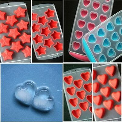 Chocolate Mould Silicone Ice Mold Jelly Pudding Tray Bar Ice-making Tools