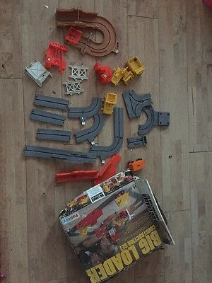 Vintage Palitoy Big Loader Construction Set Spare PARTS Only And Box. 1970's