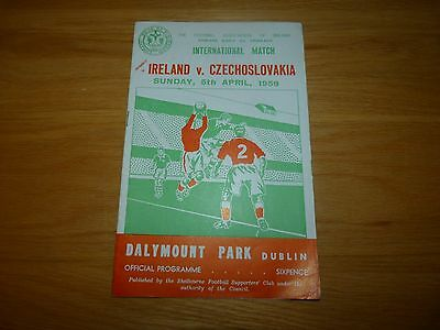 Republic of Ireland v Czechoslovakia 1959 - First Euro's