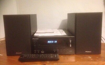 Pioneer X-HM11 Stereo Hi-Fi  CD/USB/RDS FM/AM With Remote + Instructions VGC
