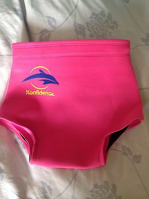Happy nappy swim nappy size 12-24 Fitted 3 Year Old konfidence brand