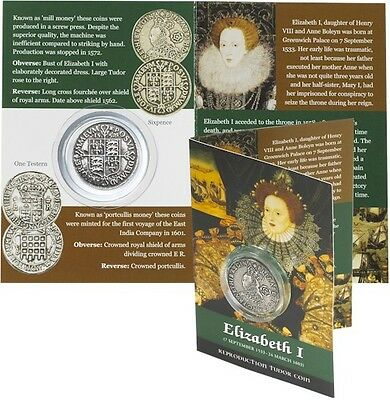 Elizabeth 1 Coin Pack  -  Sixpence