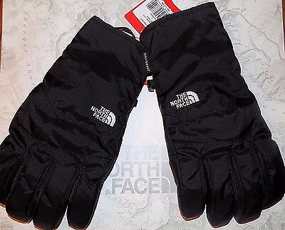 NWT North Face Men's WATERPROOF Gloves Winter Black LARGE Free Shipping  $60.00