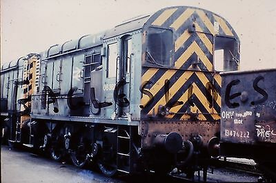 Original Slide  Of 08362 Swindon 1982 With Copyright