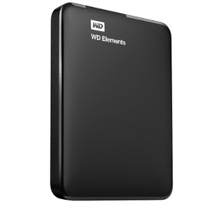 Wd 500Gb Elements Portable External Hard Drive & Large Mp3 Music Collection
