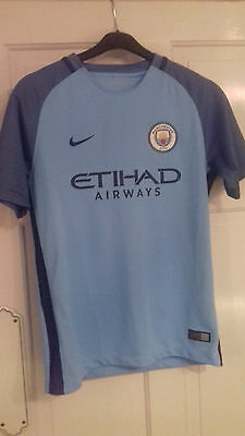 NEW Manchester City 2016-17 Home Football Shirt LB 12-13 years