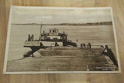 The Ferry Beachley Postcard Gloucestershire