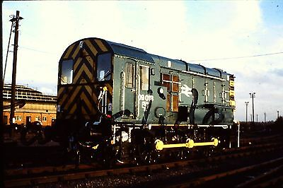 Original Slide  Of 09013 Eastleigh 1980 With Copyright