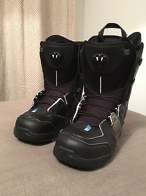Salomon Malamute Mens Snowboard Boot, UK 9 , US 9.5 Black VGC RRP £260!