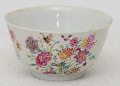 18th century Chinese porcelain famille rose cup
