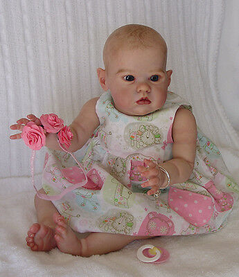 Kendras Garden Babies Reborn Sharlamae, Bonnie Brown Lifelike  vinyl baby doll