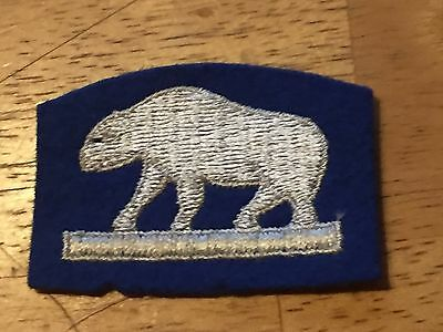 WWI AEF 339th Infantry North Russia service patch