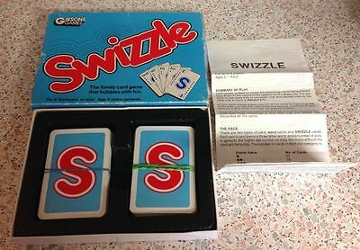 Rare Vintage Card Game Gibsons Games Swizzle