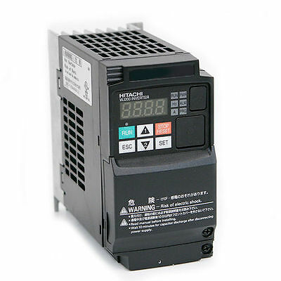 Hitachi Wj200-007Lf,variable Frequency Drive, 1 Hp, 230 Vac, Three Phase Input