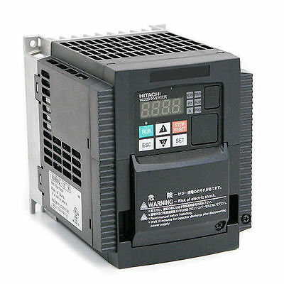 Hitachi Wj200-007Hf,variable Frequency Drive, 1 Hp, 460 Vac, Three Phase Input