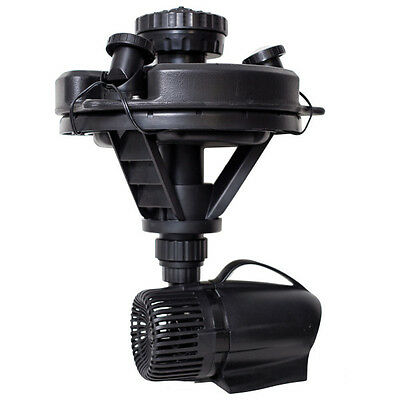 Pond Boss DFTN12003L 1/4 HP Floating Fountain With 3 LED Lights