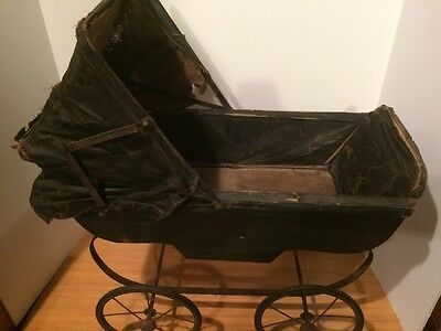 Antique Steinfeld Baby Doll Carriage Buggy Dolly Stroller
