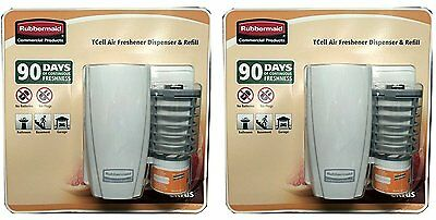 Rubbermaid Commercial Products TCell Air Freshener Dispenser & Refill (Pack of 2