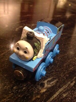 Thomas The Tank Engine Wooden Train ~ Limited Edition~ Thomas Comes To Breakfast