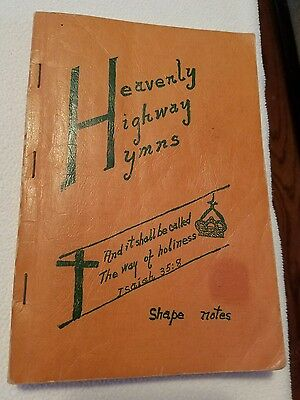 1956 HEAVENLY HIGHWAY HYMNS Church Music Hymnal Song Book Shape Notes