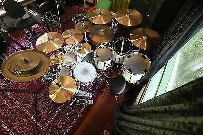 Pearl BLX Drum Kit, Paiste 2002 Cymbals, Pearl H-2000 Hardware