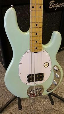 Sterling By Music Man Ray 4 SUB Electric Bass Guitar, NEW MINT GREEN