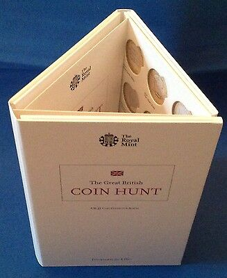 2015 Brand New Royal Mint UK £2 Coin Hunt Album Two Pound
