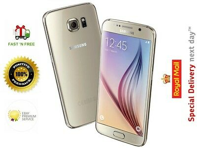 Samsung Galaxy S6 SM-G920F 32GB Unlocked (Royal Mail Next Day Delivery)