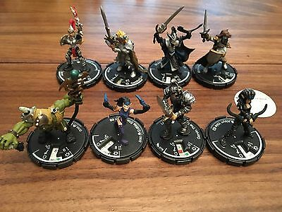 Mage Knight Dungeon WizKids Lot of 8 Figures Unique Longblade Rivvenguard