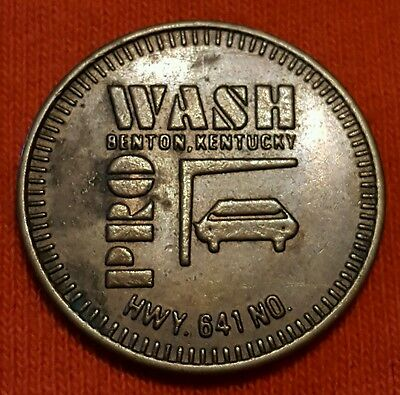 Pro Wash Benton Kentucky Good For 1 Brushless Automatic Car Wash Token