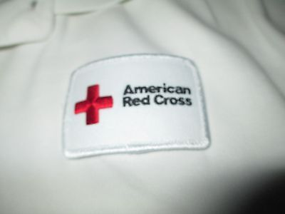 American RED CROSS Polo Shirt XLarge
