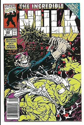 Incredible Hulk # 385 (Sept 1991), Vf+