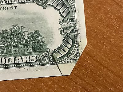 UNC Error 1977 CURRENCY $100 Federal Reserve Note