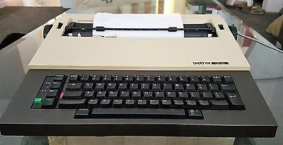 Vintage Brother CE 25 Student Riter Electric Typewriter Great Working Condition