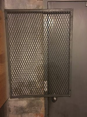 "Steel Grate Window Security/protector. 28""w X 38""h"